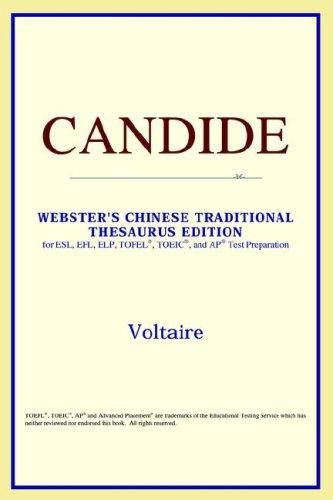 Download Candide (Webster's Chinese-Simplified Thesaurus Edition)