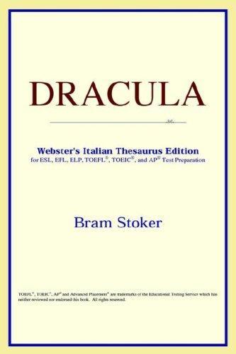 DRACULA (Webster's Italian Thesaurus Edition)