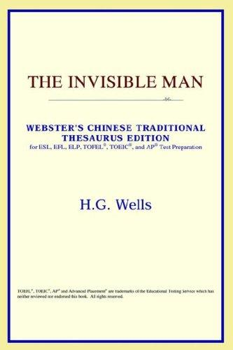 Download The Invisible Man (Webster's Chinese-Traditional Thesaurus Edition)