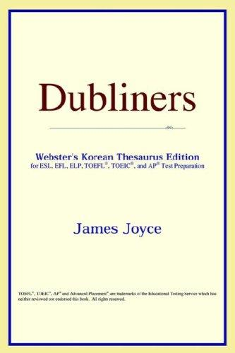 Dubliners (Webster's Korean Thesaurus Edition)