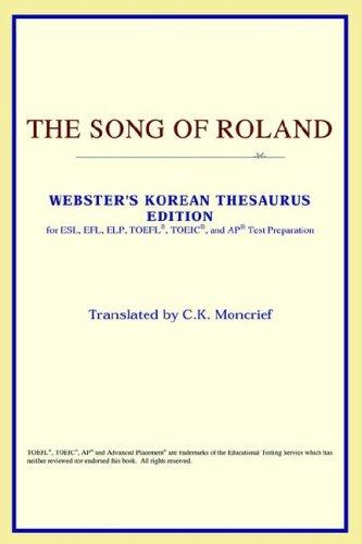 Download The Song of Roland (Webster's Korean Thesaurus Edition)