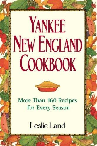 Yankee New England Cookbook