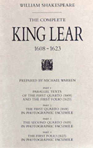 Download The complete King Lear, 1608-1623