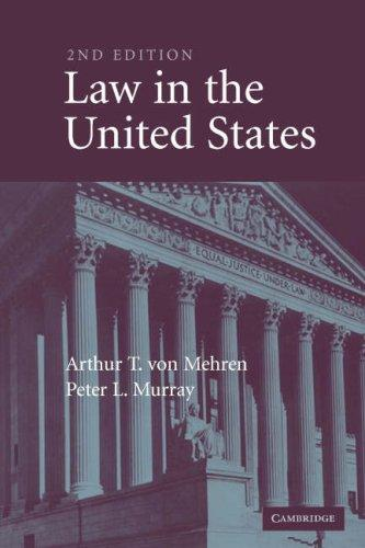 Download Law in the United States