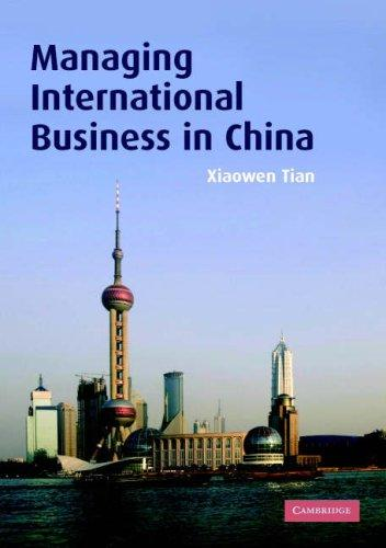 Download Managing International Business in China