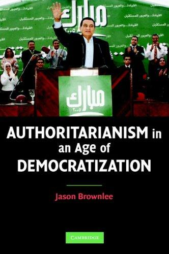 Download Authoritarianism in an Age of Democratization