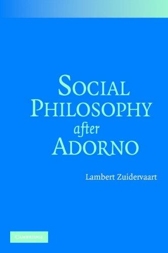 Download Social Philosophy after Adorno