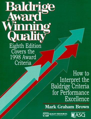 Baldrige Award Winning Quality