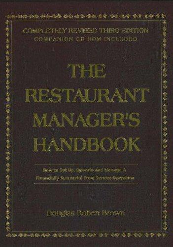 Download The Restaurant Managers Handbook