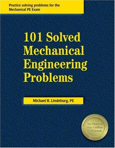 Download 101 solved mechanical engineering problems