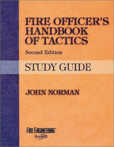 Download Fire Officer's Handbook of Tactics(Study Guide)