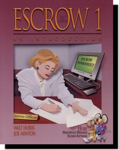 Escrow 1