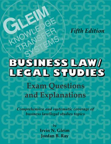 Business law/legal studies