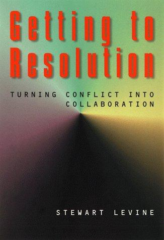 Getting to resolution