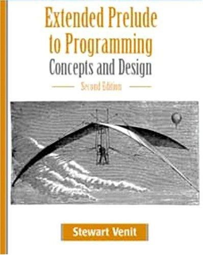 Download Extended Prelude to Programming