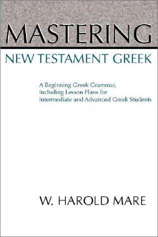 Download Mastering New Testament Greek