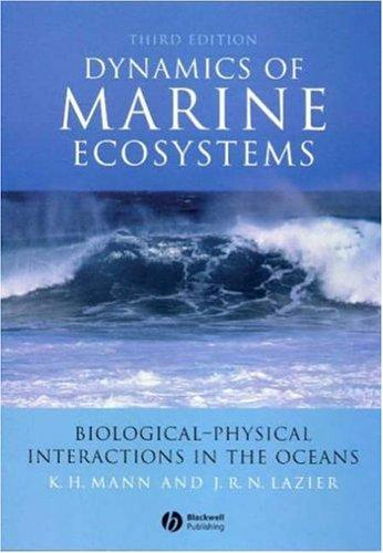 Download Dynamics of marine ecosystems