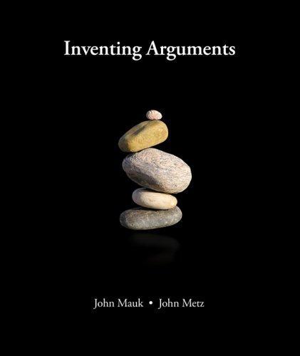 Download Inventing Arguments