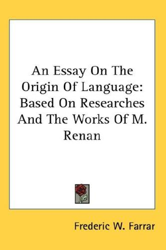 Download An Essay On The Origin Of Language