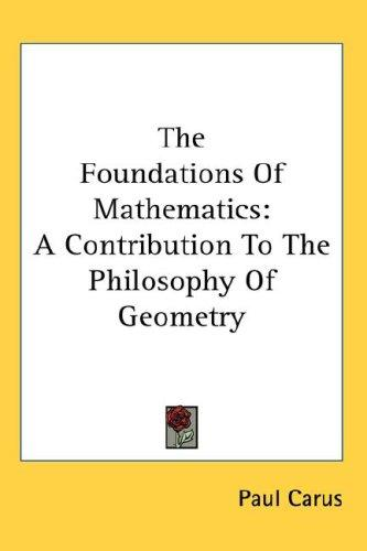 Download The Foundations Of Mathematics