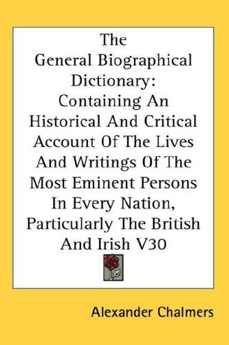 Download The General Biographical Dictionary