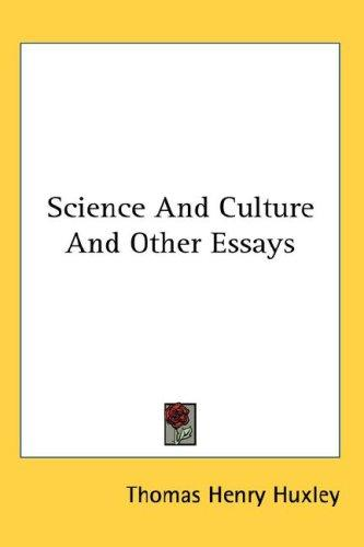 Download Science And Culture And Other Essays
