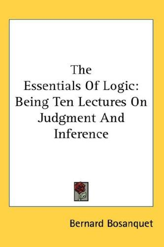 Download The Essentials Of Logic