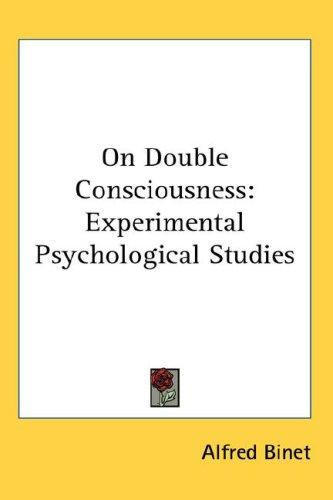 On Double Consciousness