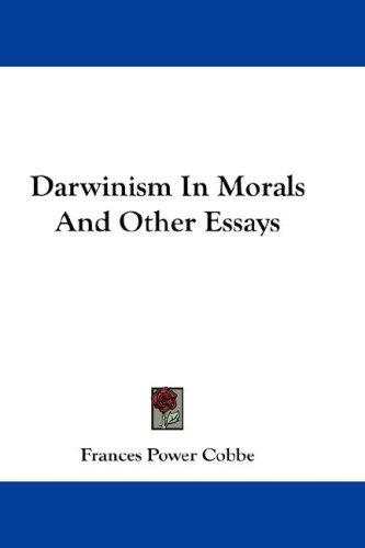 Download Darwinism In Morals And Other Essays