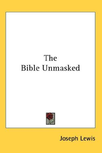 Download The Bible Unmasked