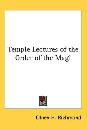 Download Temple Lectures of the Order of the Magi