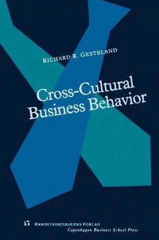 Download Cross-cultural business behavior