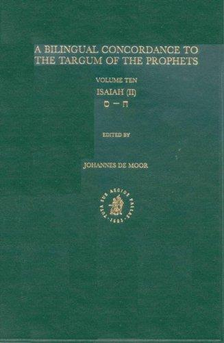 Download A Bilingual Concordance to the Targum of the Prophets