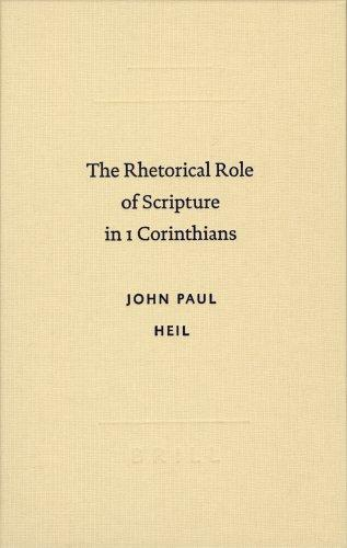 Download The rhetorical role of Scripture in 1 Corinthians