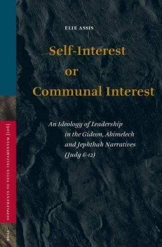 Self-interest or communal interest
