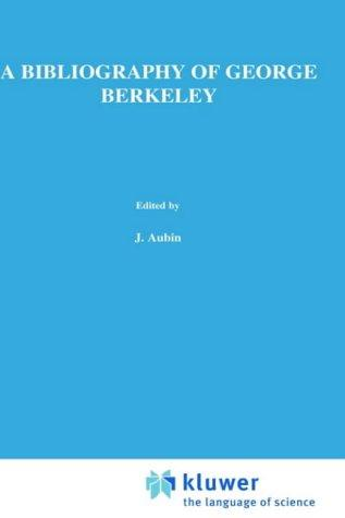 Download A bibliography of George Berkeley