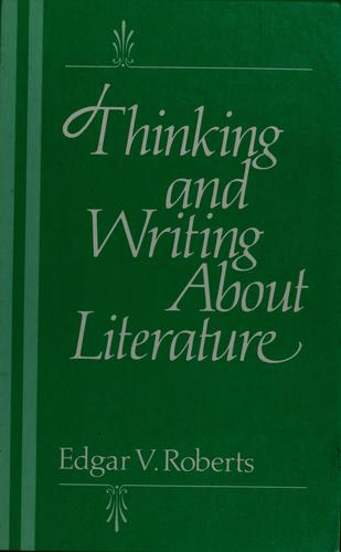 Download Thinking and Writing About Literature