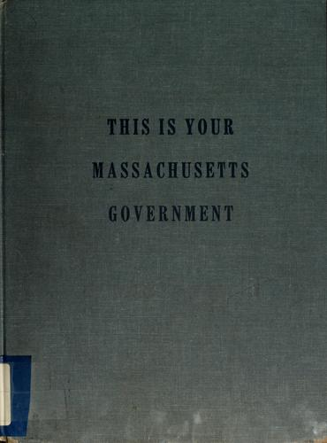 This is your Massachusetts government