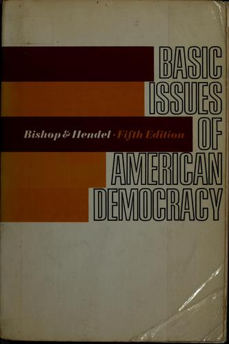 Download Basic issues of American democracy
