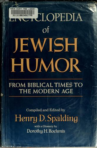 Download Encyclopedia of Jewish humor