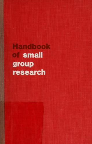 Download Handbook of small group research