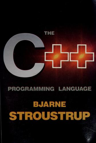 The C[plus plus] programming language by Bjarne Stroustrup