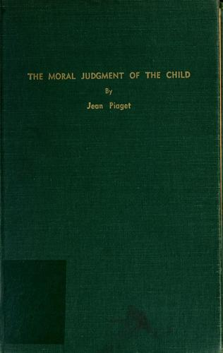 Download The moral judgement of the child