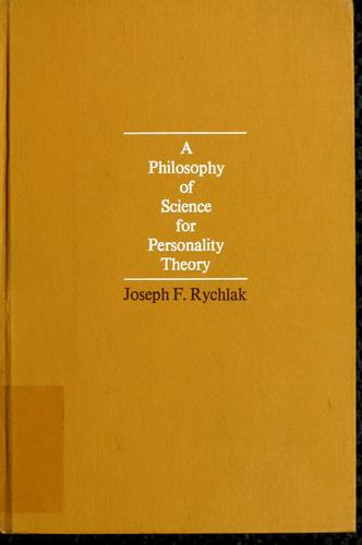 Download A Philosophy of science for personality theory