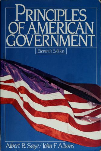 Principles of American government