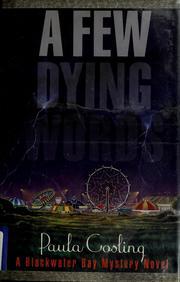 A Few Dying Words: A Blackwater Bay Mystery