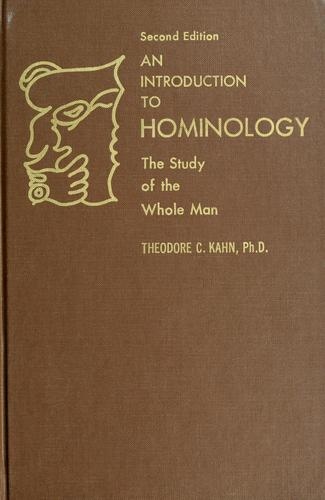 An introduction to hominology