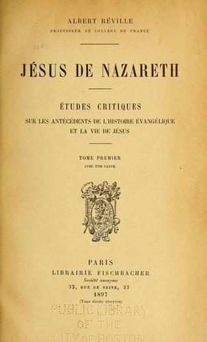 Jésus de Nazareth.