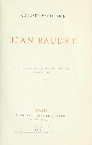 Jean Baudry.