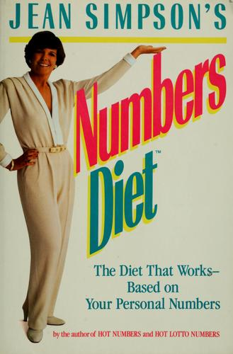 Jean Simpson's numbers diet (Open Library)